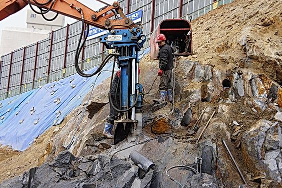 rock drill, rock drilling, auger drill, core drill