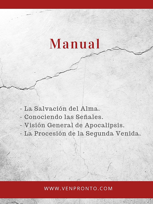 "Manual 1 ""Casa de Oración Venpronto"""