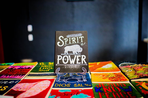 "Libreta Artesanal ""Spirit Power"""
