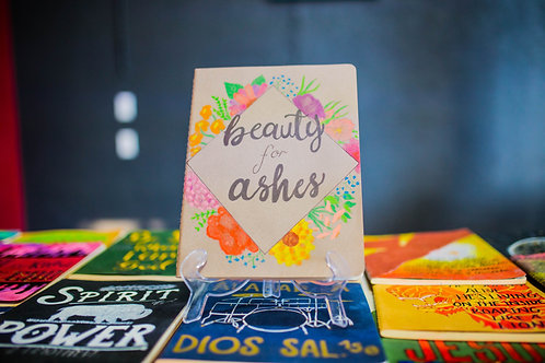 "Libreta Artesanal ""Beauty for ashes"""