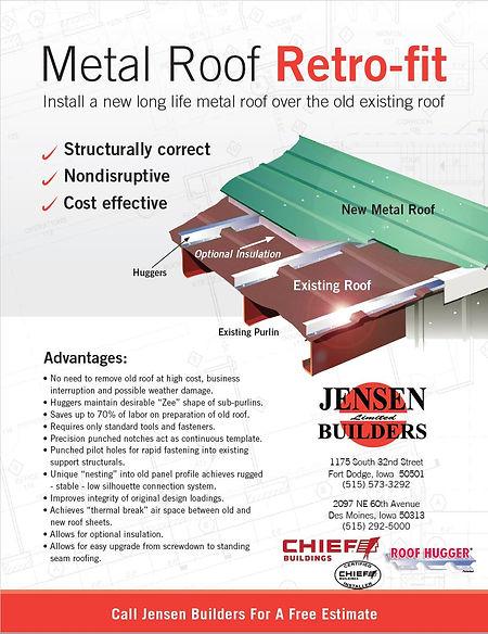 Metal Roof Retro-fit