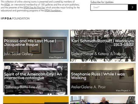 IFPDA - Online Galleries