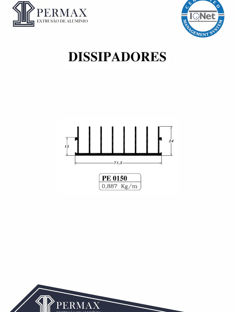dissipadores PE 0150