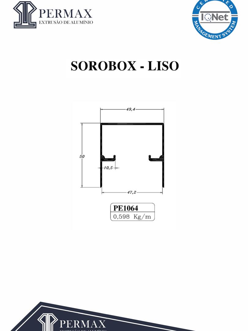 sorobox liso PE 1064