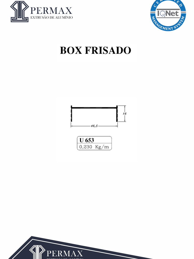 box frisado U 653