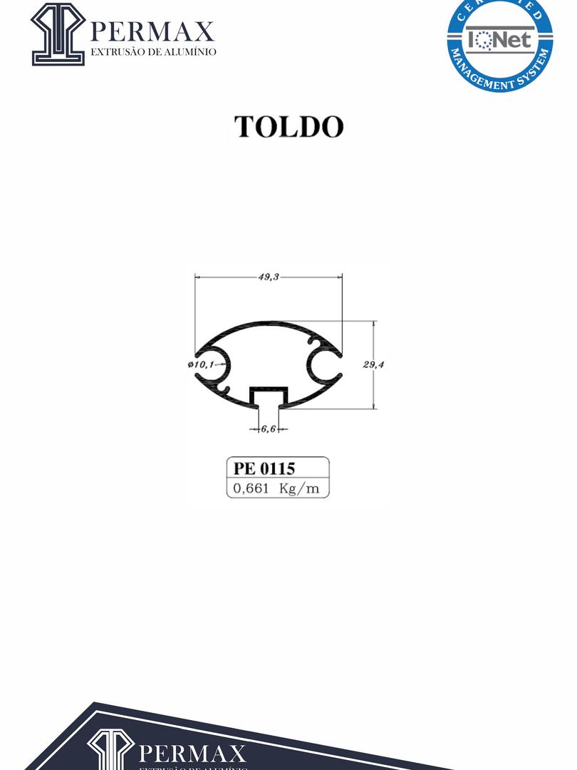 toldo PE 0115