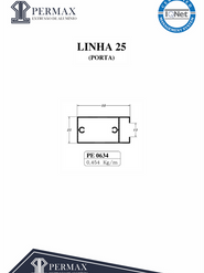 linha 25 porta PE 0634