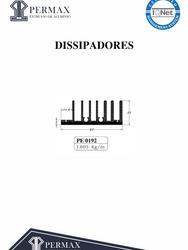 dissipadores PE 0192