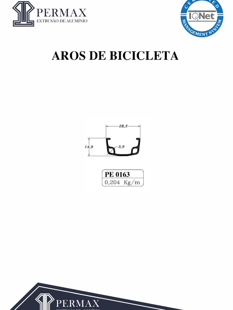 aros de bicicleta PE 0163