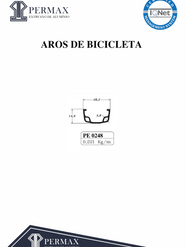 aros de bicicleta PE 0248