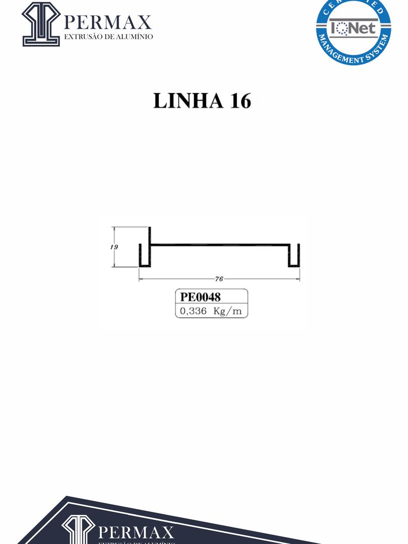 linha 16 PE 0048