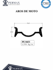 aros de moto PE 0453