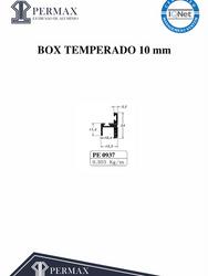 box temperado 10mm PE 0937