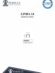 linha 14 basculante PE 0653
