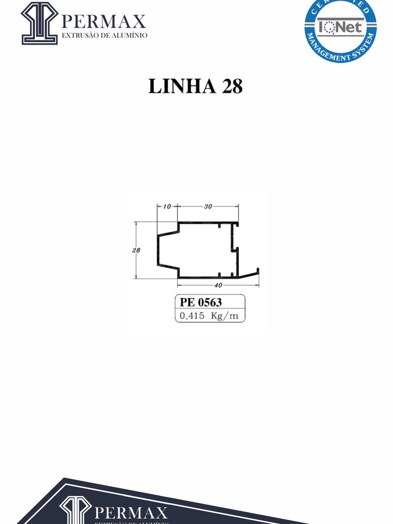linha 28 PE 0563