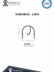sorobox liso PE 1066