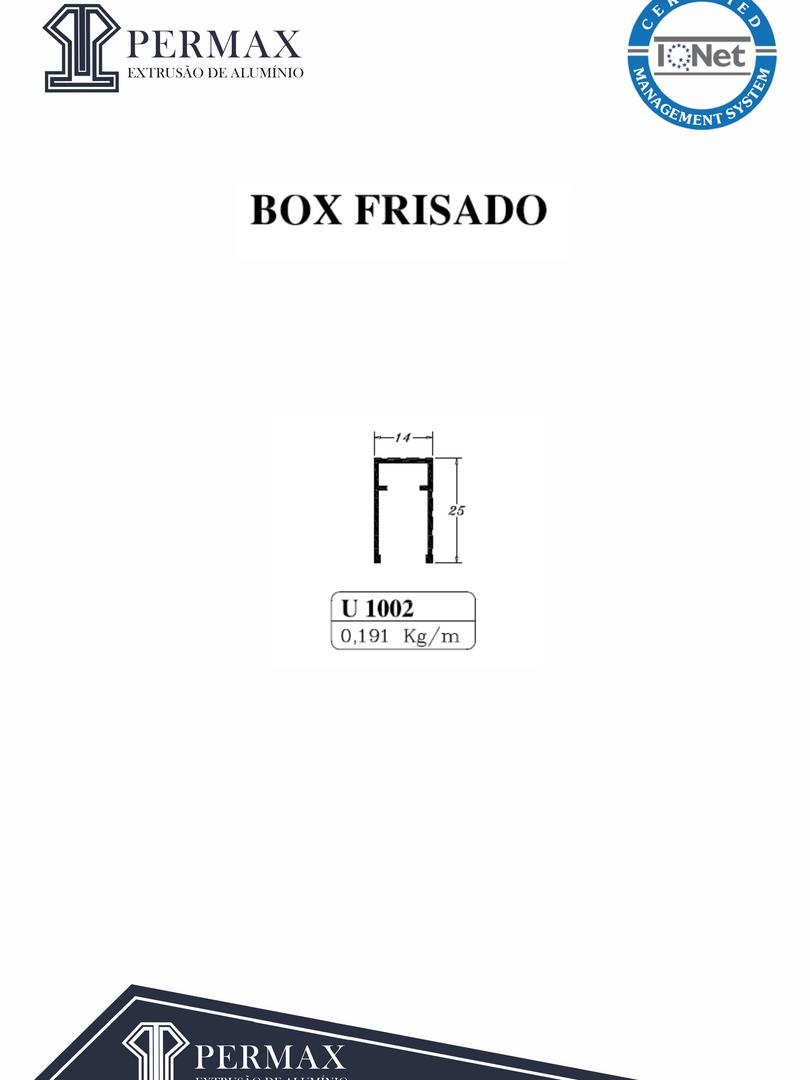 box frisado U 1002