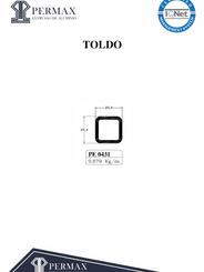 toldo PE 0431