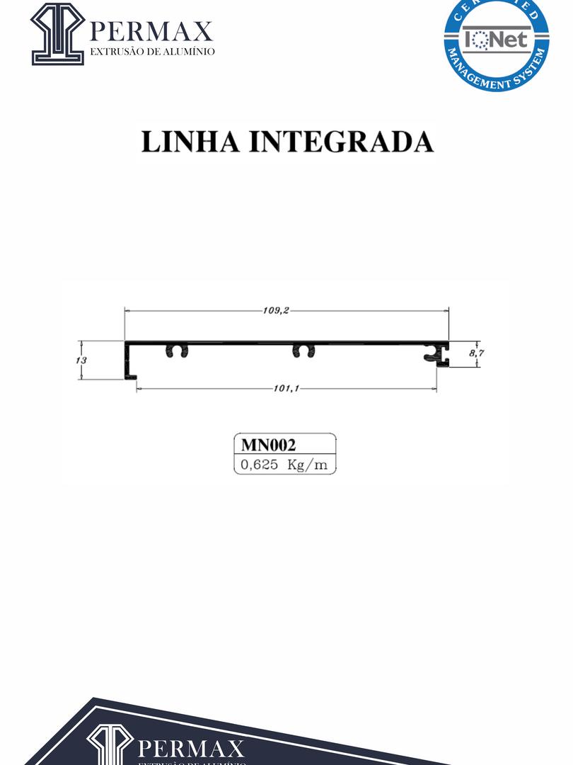 linha integrada MN 002