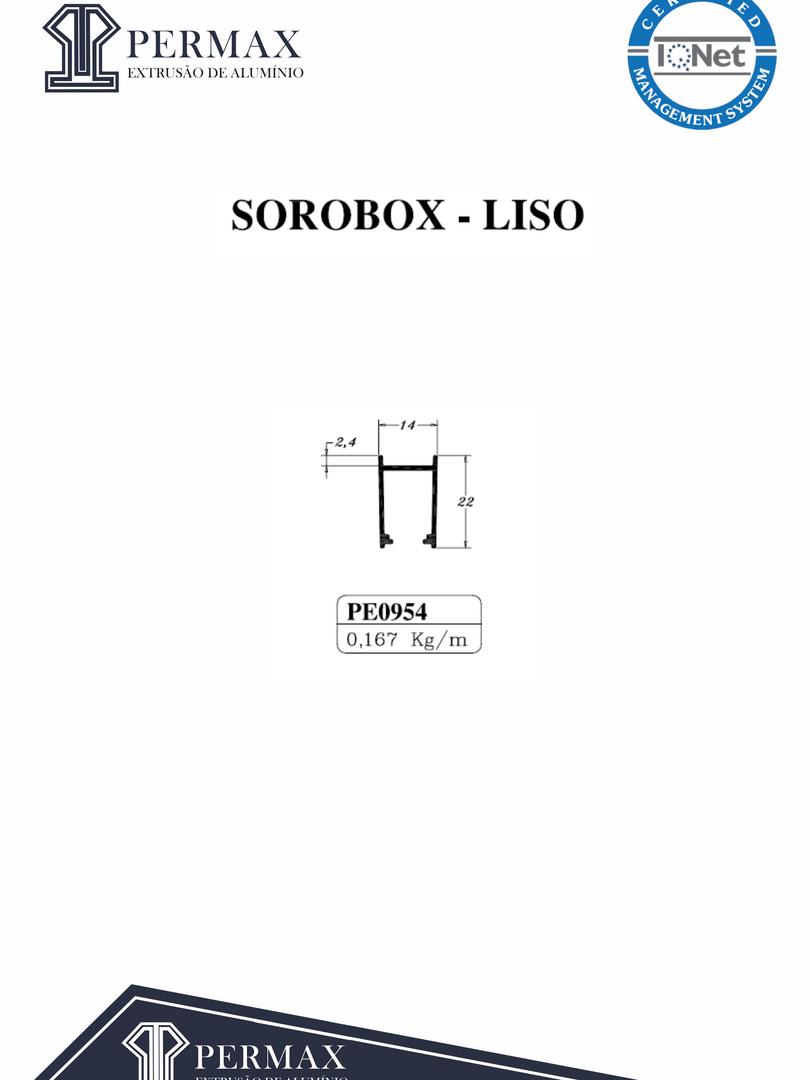 sorobox liso PE 0954