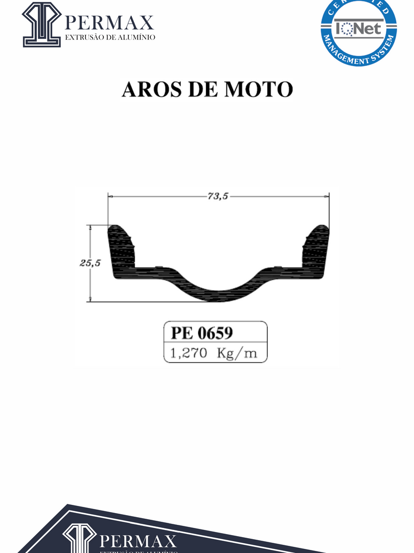 aros de moto PE 0659