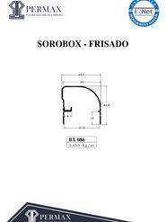 sorobox frisado BX 086
