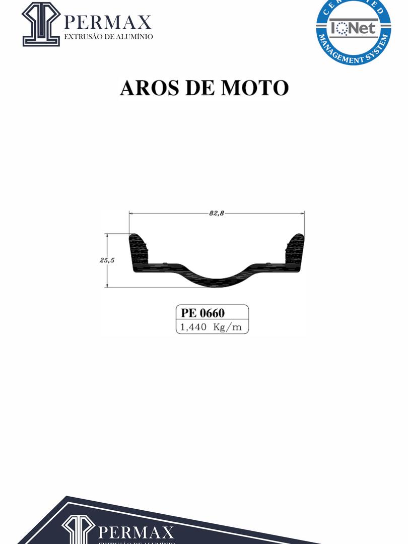 aros de moto PE 0660