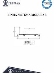 linha sistema modular PSM 211
