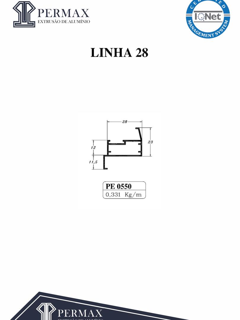 linha 28 PE 0550