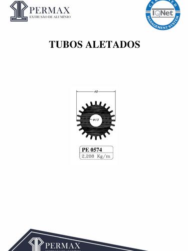 tubos aletados PE 0574