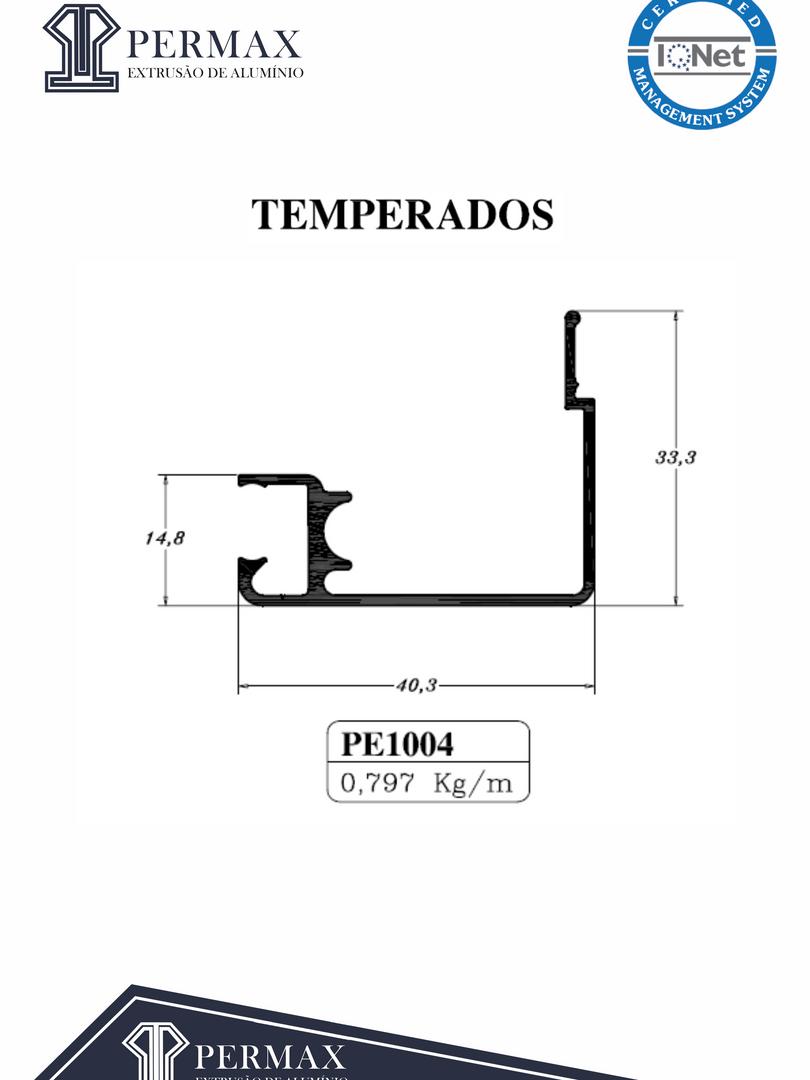 temperados PE 1004
