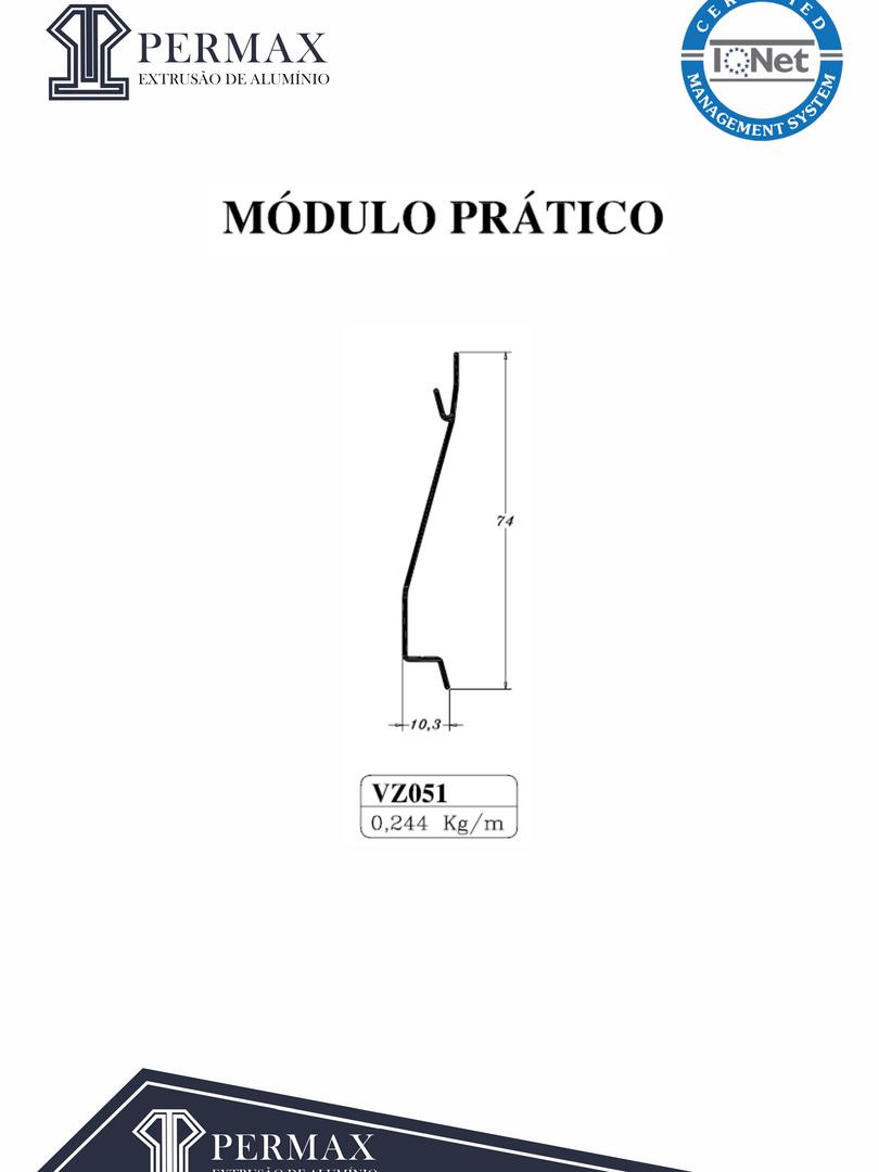 módulo prático VZ 051