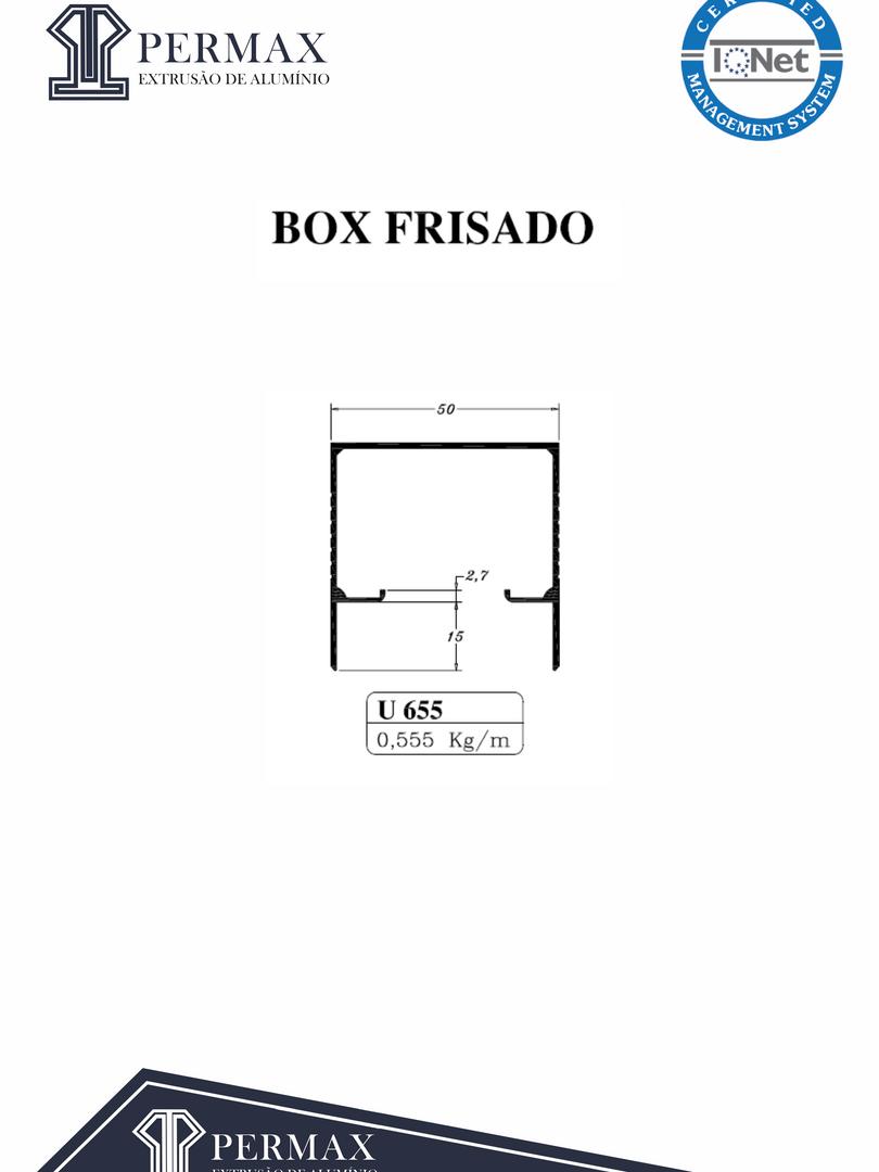 box frisado U 655