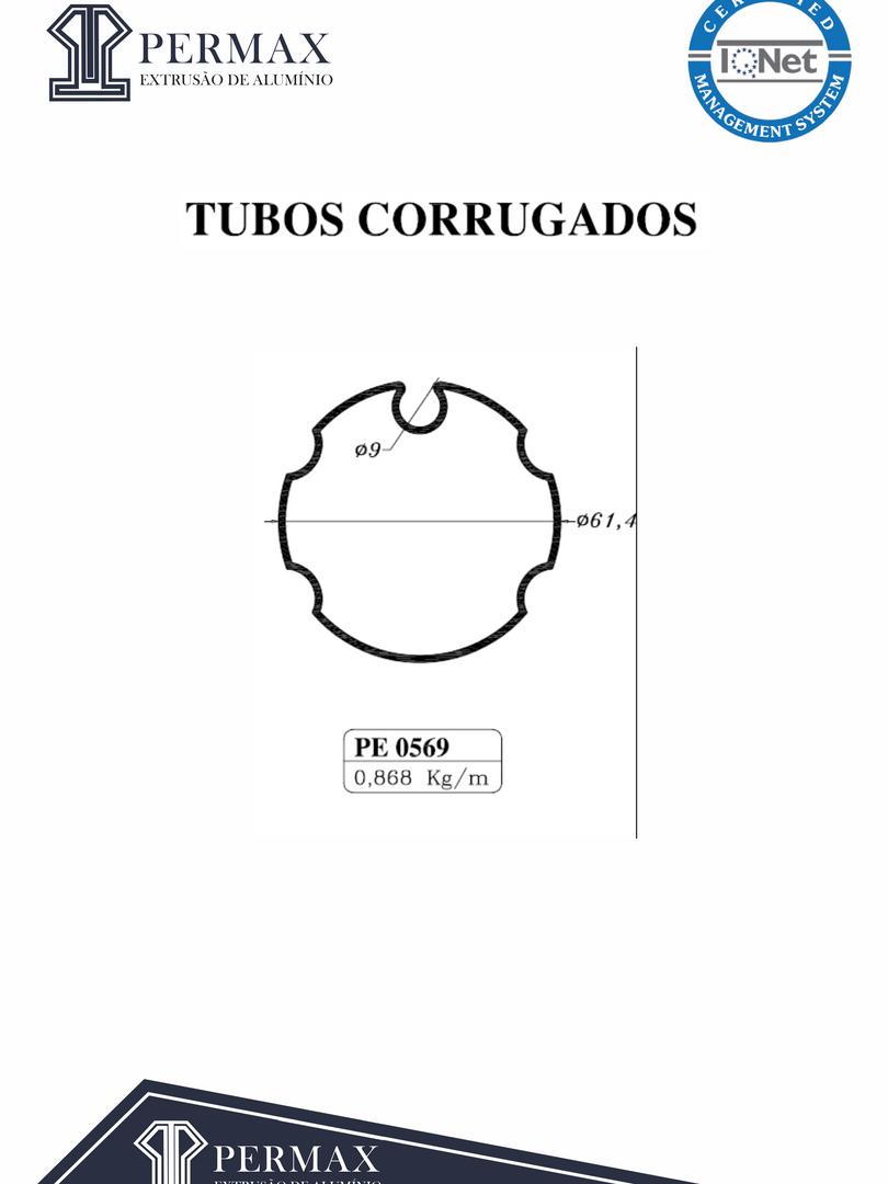 tubos corrugados PE 0569