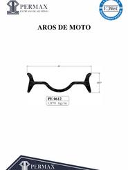 aros de moto PE 0612