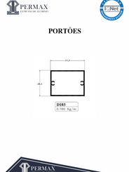 portões D 103