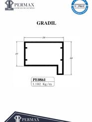 gradil PE 0861