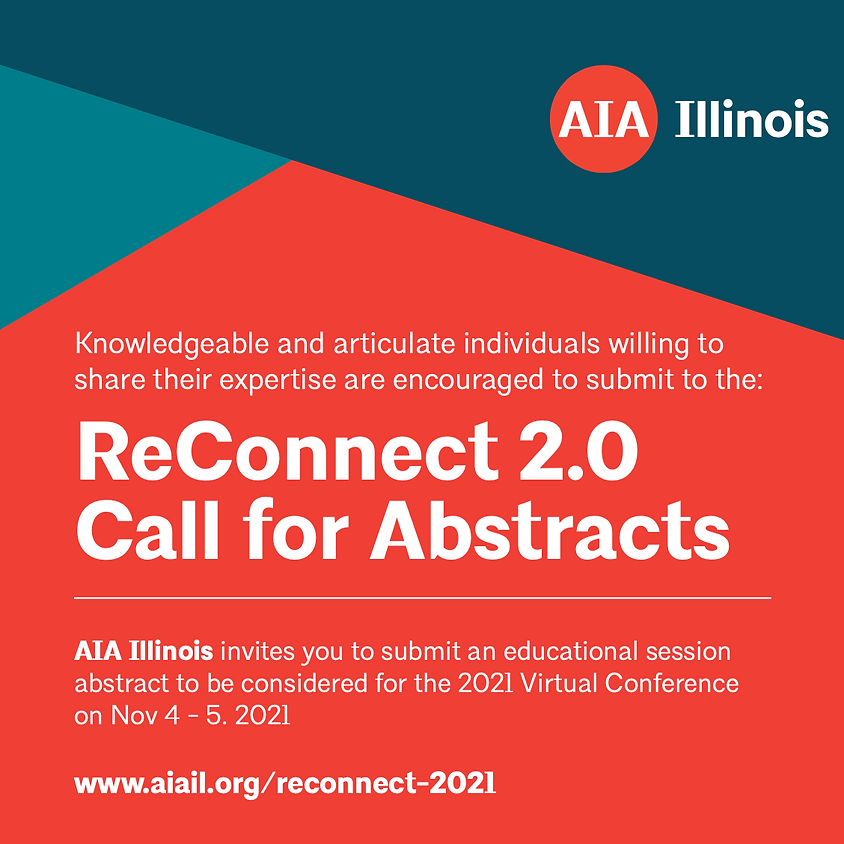 ReConnect 2.0 CALL FOR ABSTRACTS
