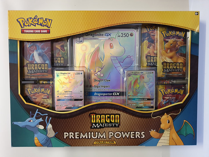 Dragon Majesty Premium Powers Collection box