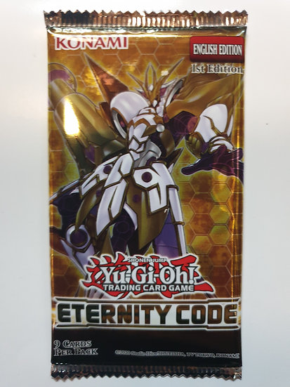 Yugioh Eternity Code Booster Pack