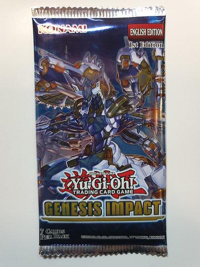 Yugioh Genesis Impact Booster Pack