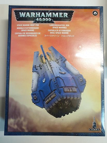 Games Workshop Warhammer 40K Space Marine Drop Pod