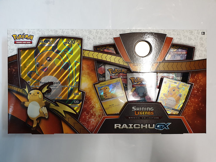 Pokemon Shining Legends Raichu GX Special Collection