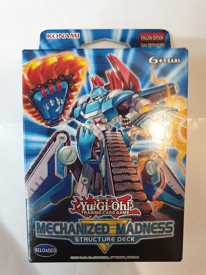 Yugioh Structure Deck Mechanised Madness