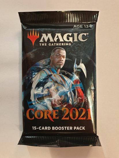 Magic Core 2021 Booster pack