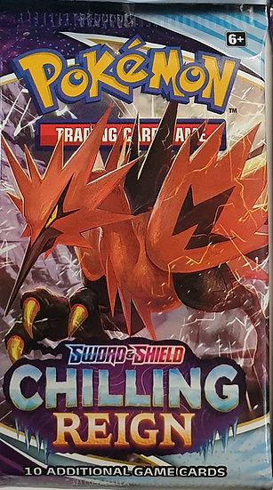 Pokemon Chilling Reign booster pack (random artwork)
