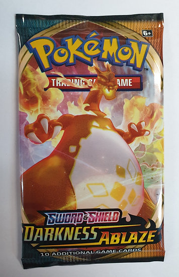 Pokemon Darkness Ablaze Booster