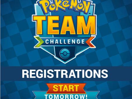 Pokemon Team Challenge registration starts