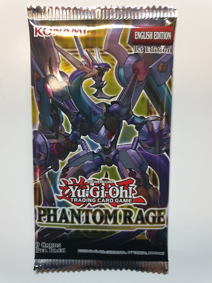 Yugioh Phantom Rage Booster Pack