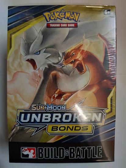 Pokemon Sun & Moon Unbroken Bonds Build and Battle Box Prerelease Kit